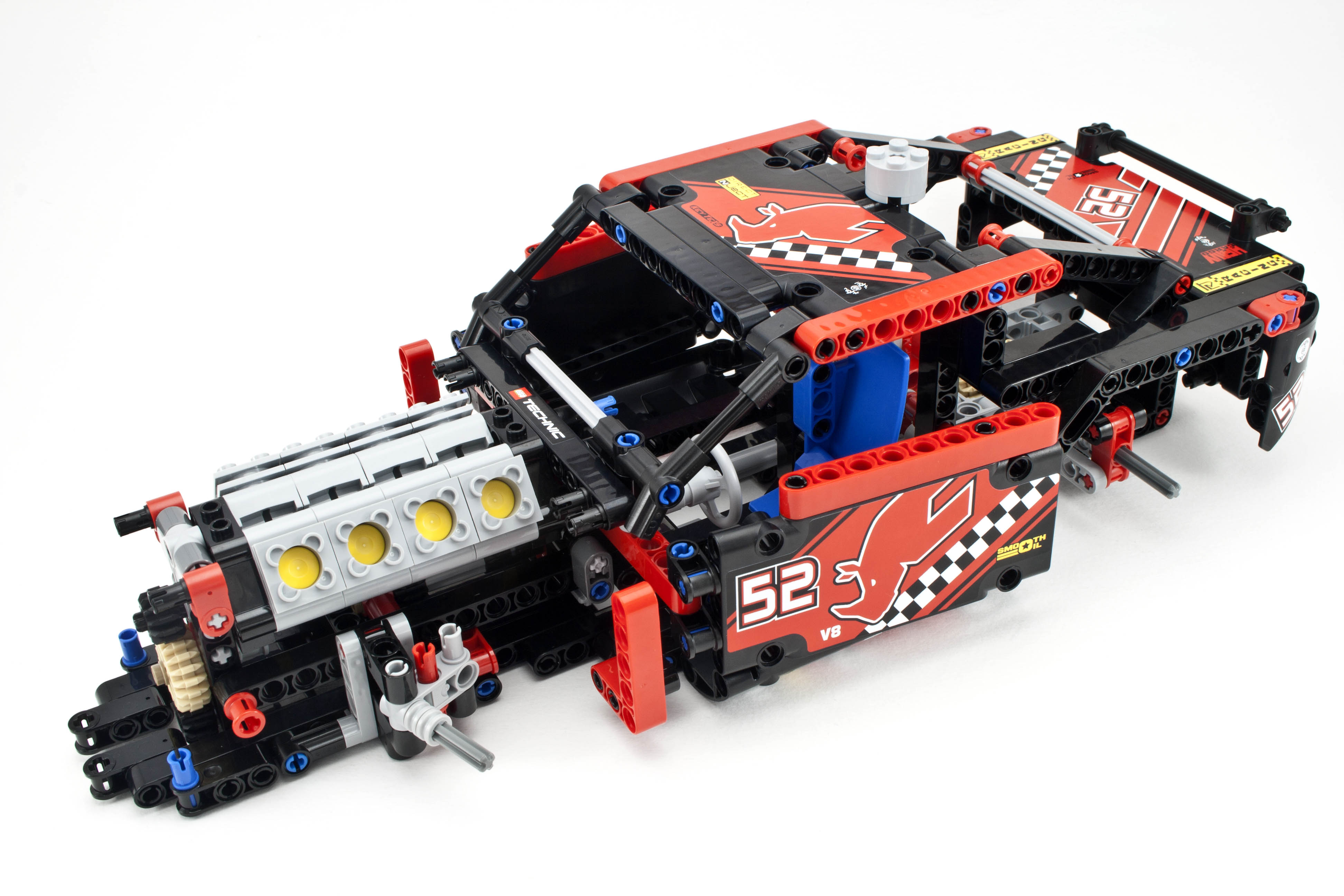 Lego Technic Race Car  Parts