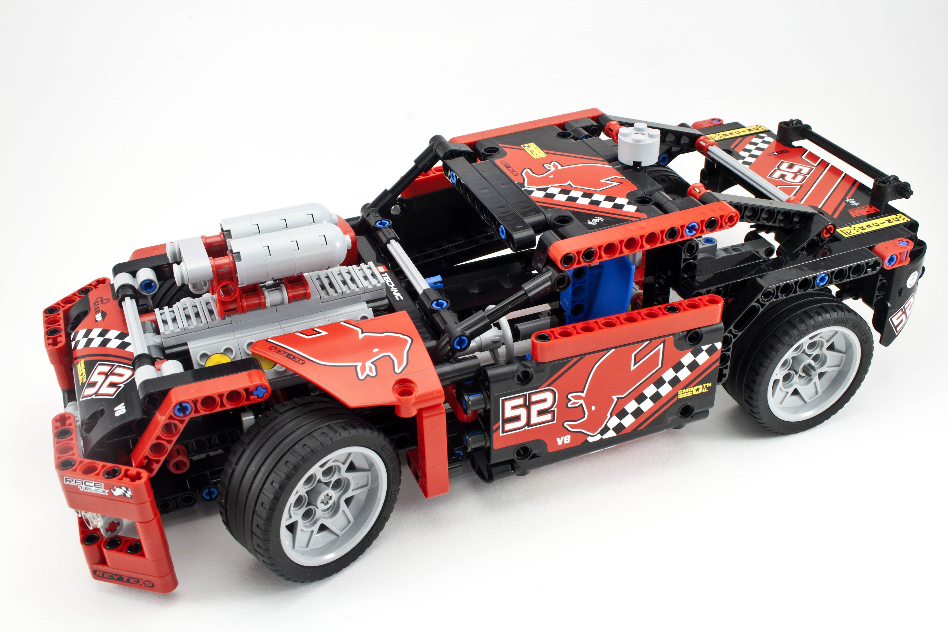 Review 42041 Race Truck Rebrickable Build With Lego