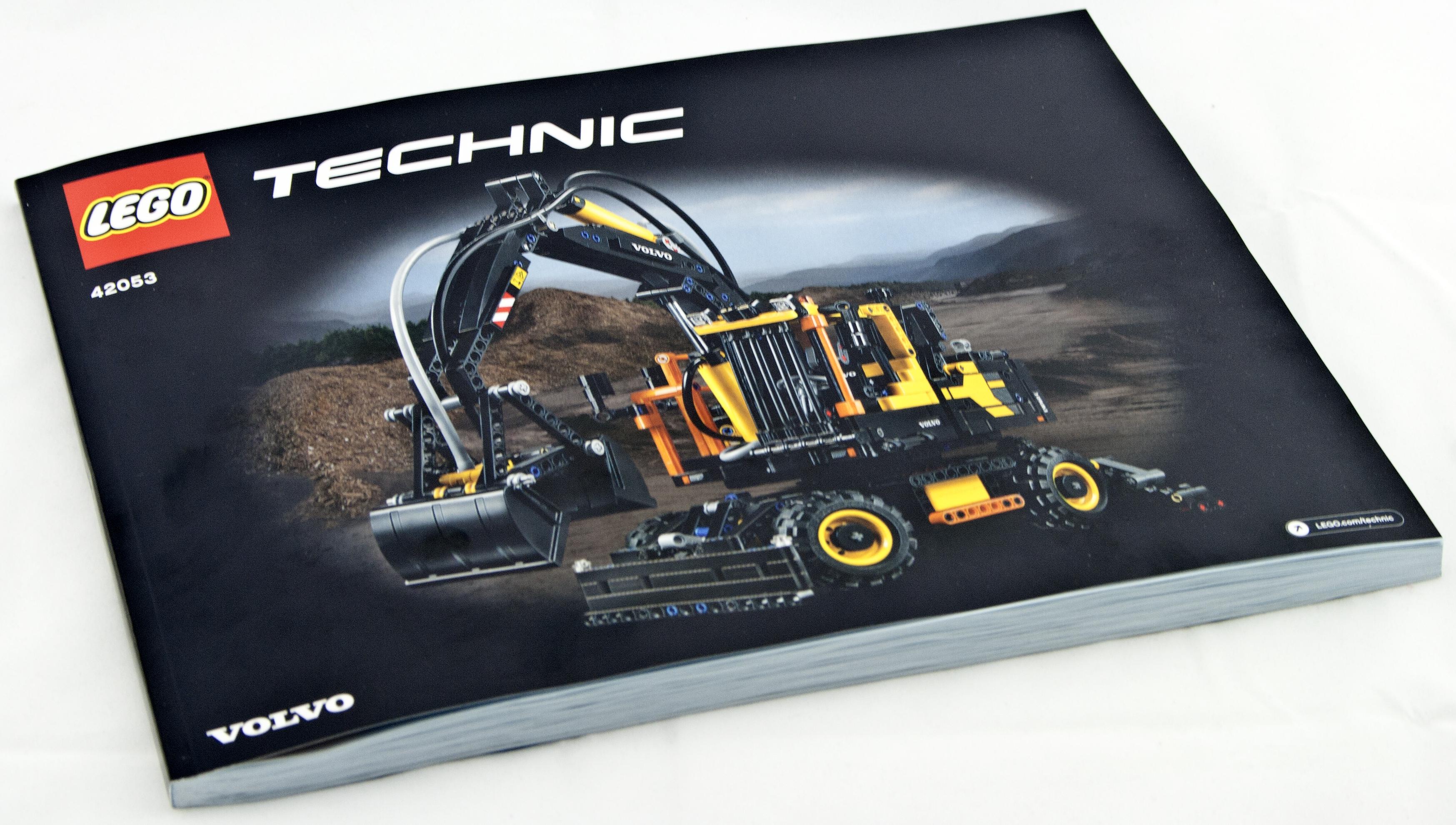 Review - LEGO 42053 Volvo EW 160E | Rebrickable - Build with LEGO