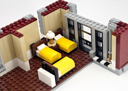Review 75827 Ghostbusters Firehouse Headquarters Rebrickable
