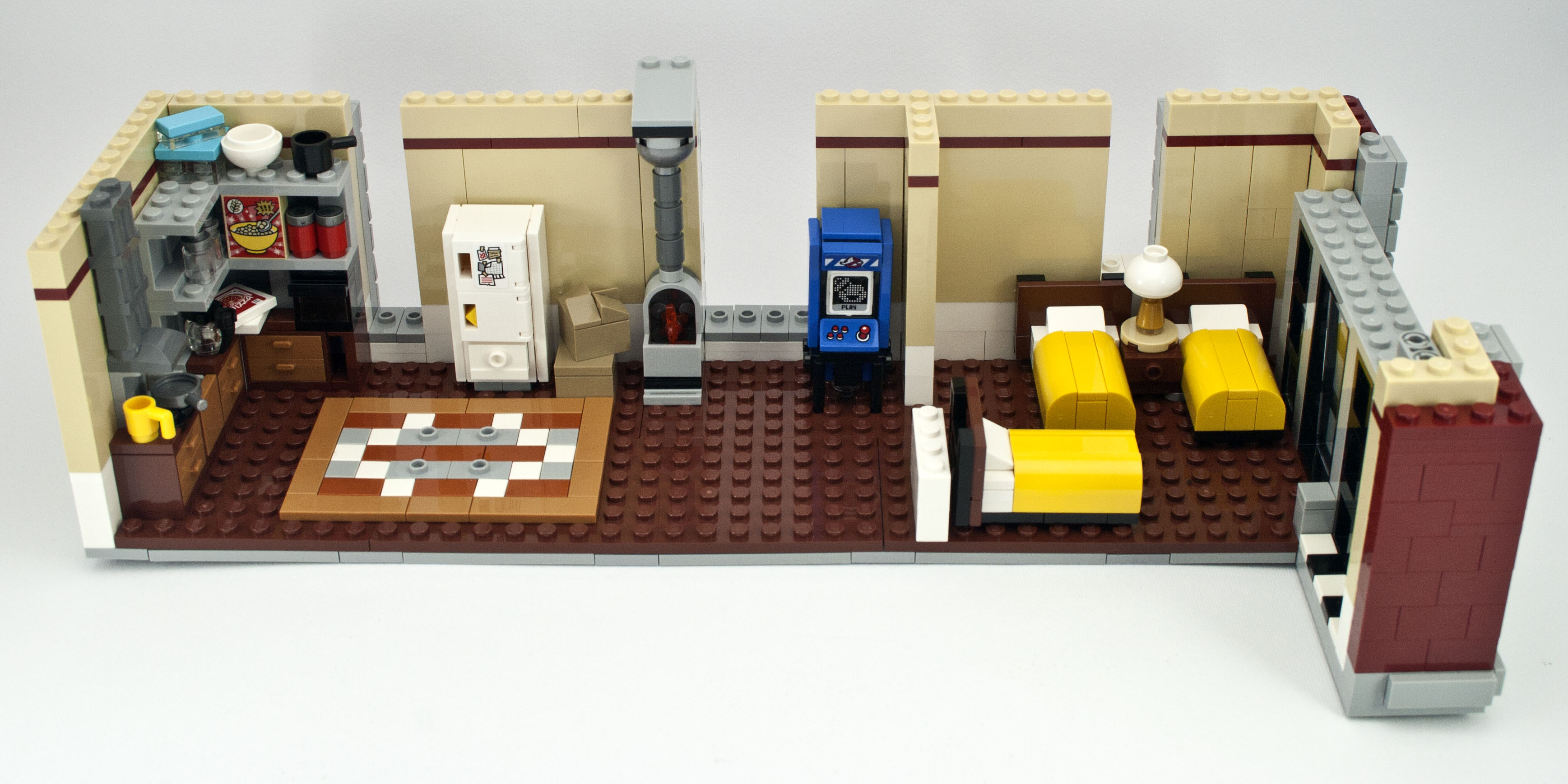 review 75827 ghostbusters firehouse headquarters