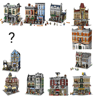 Review 10251 Brick Bank Rebrickable Build With Lego