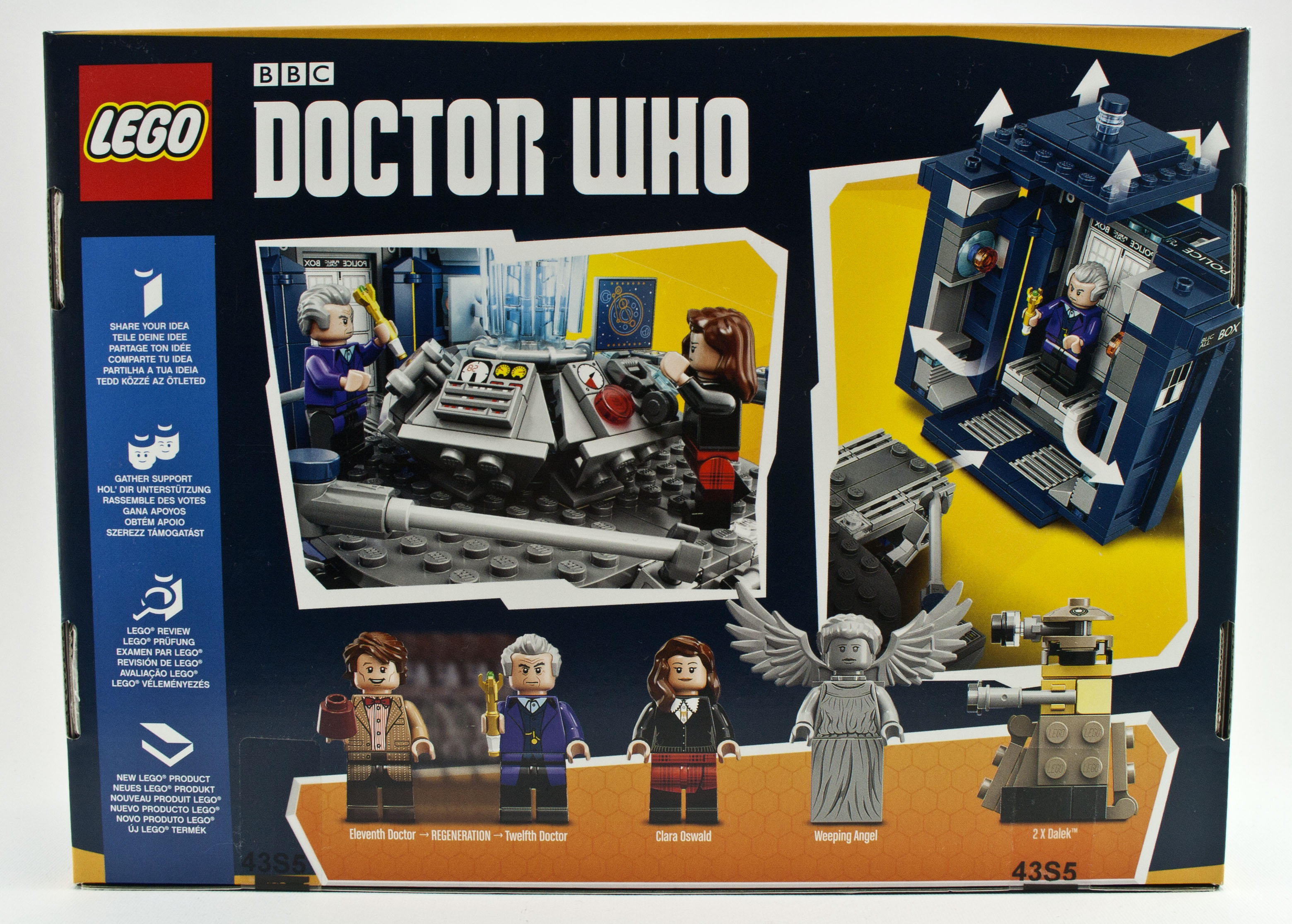 Review 21304 Doctor Who Rebrickable Build With Lego