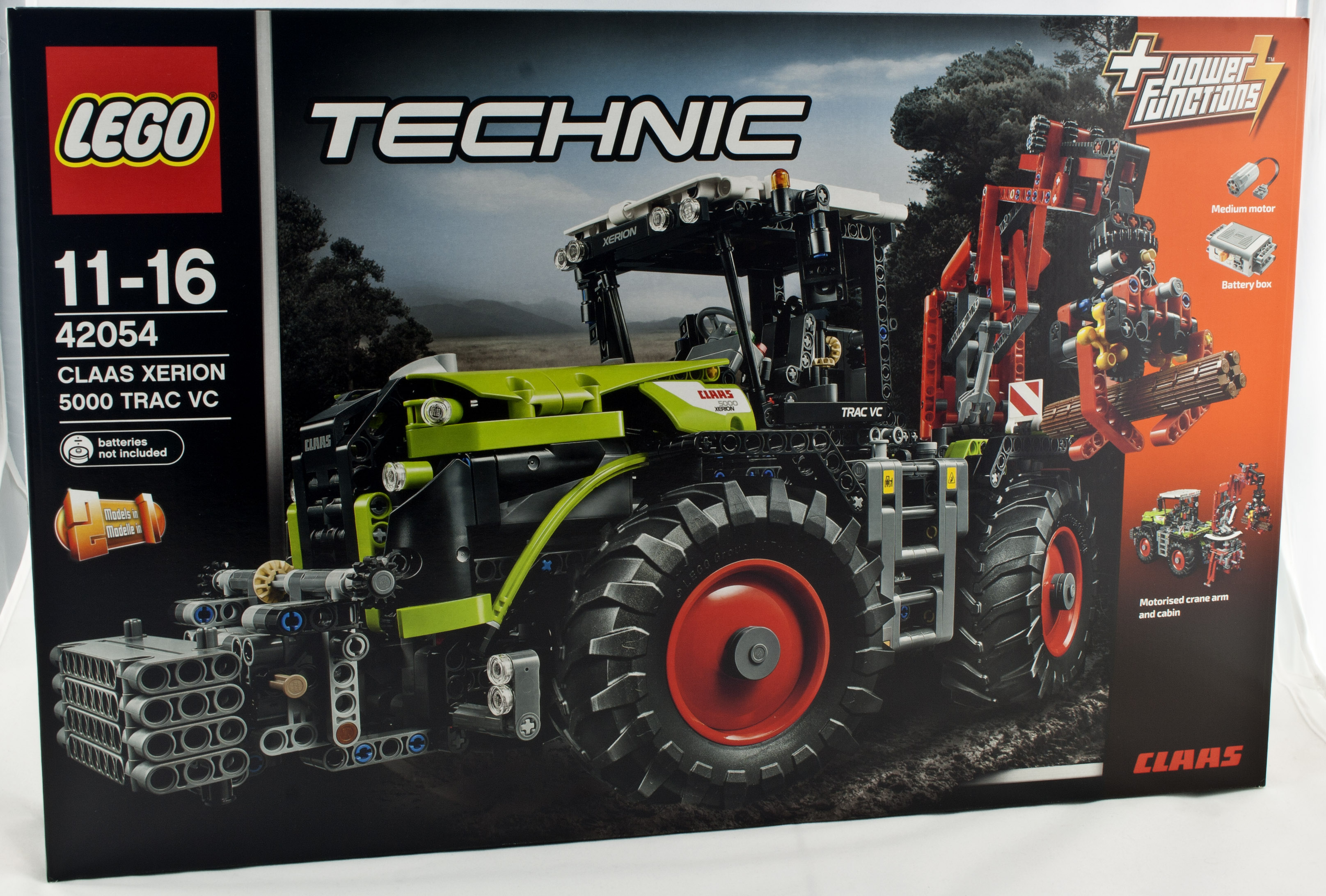 Review Lego 42054 Claas Xerion 5000 Trac Vc