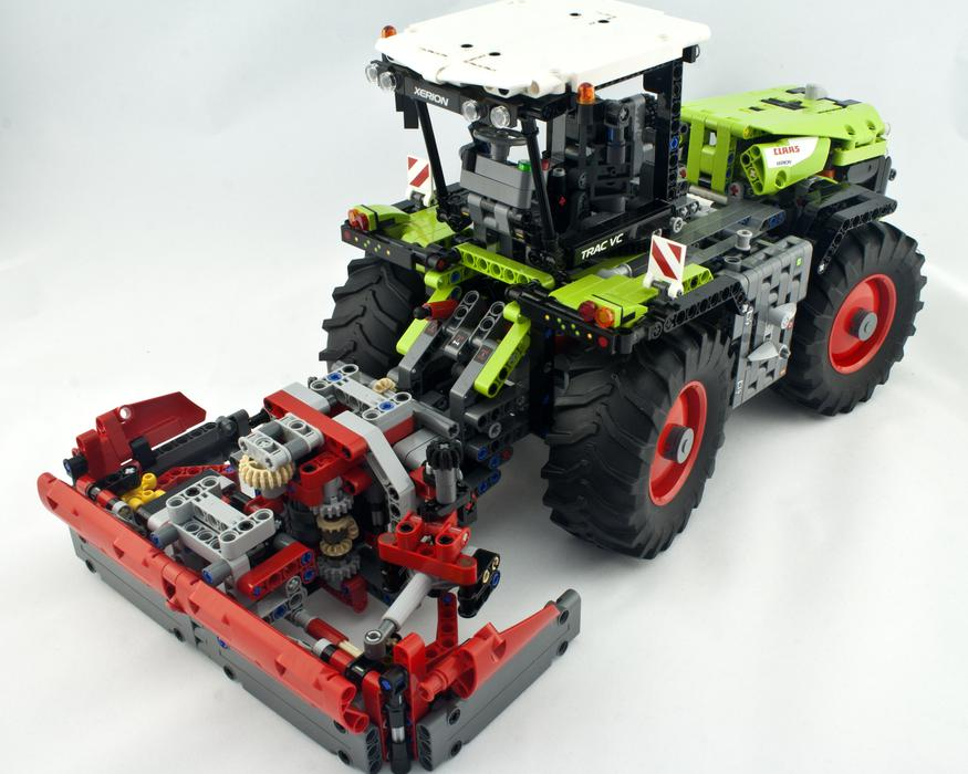 Review - LEGO 42054 Claas Xerion 5000 Trac VC | Rebrickable - Build ...