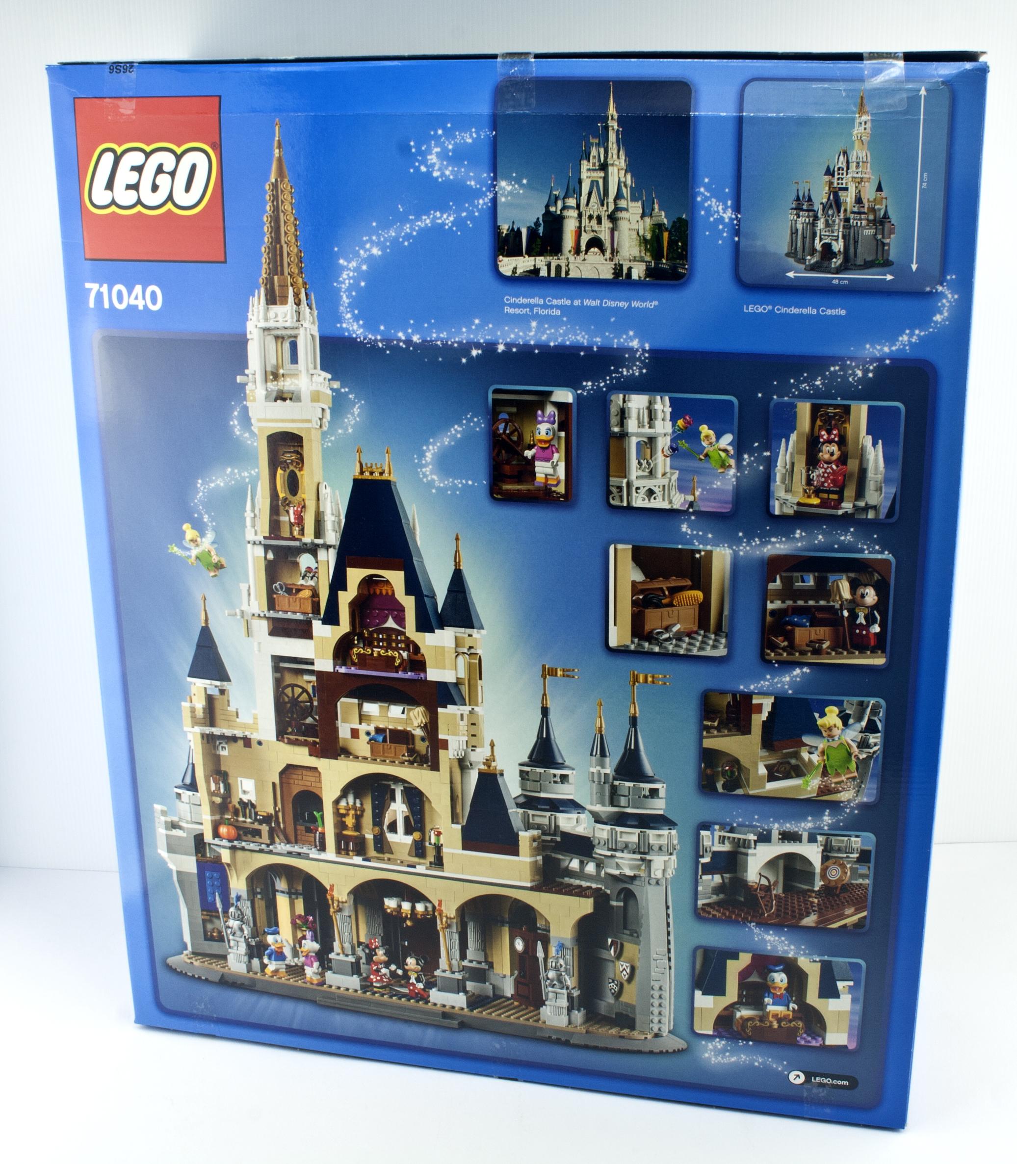 Review - LEGO 71040 The Disney Castle | Rebrickable - Build with LEGO