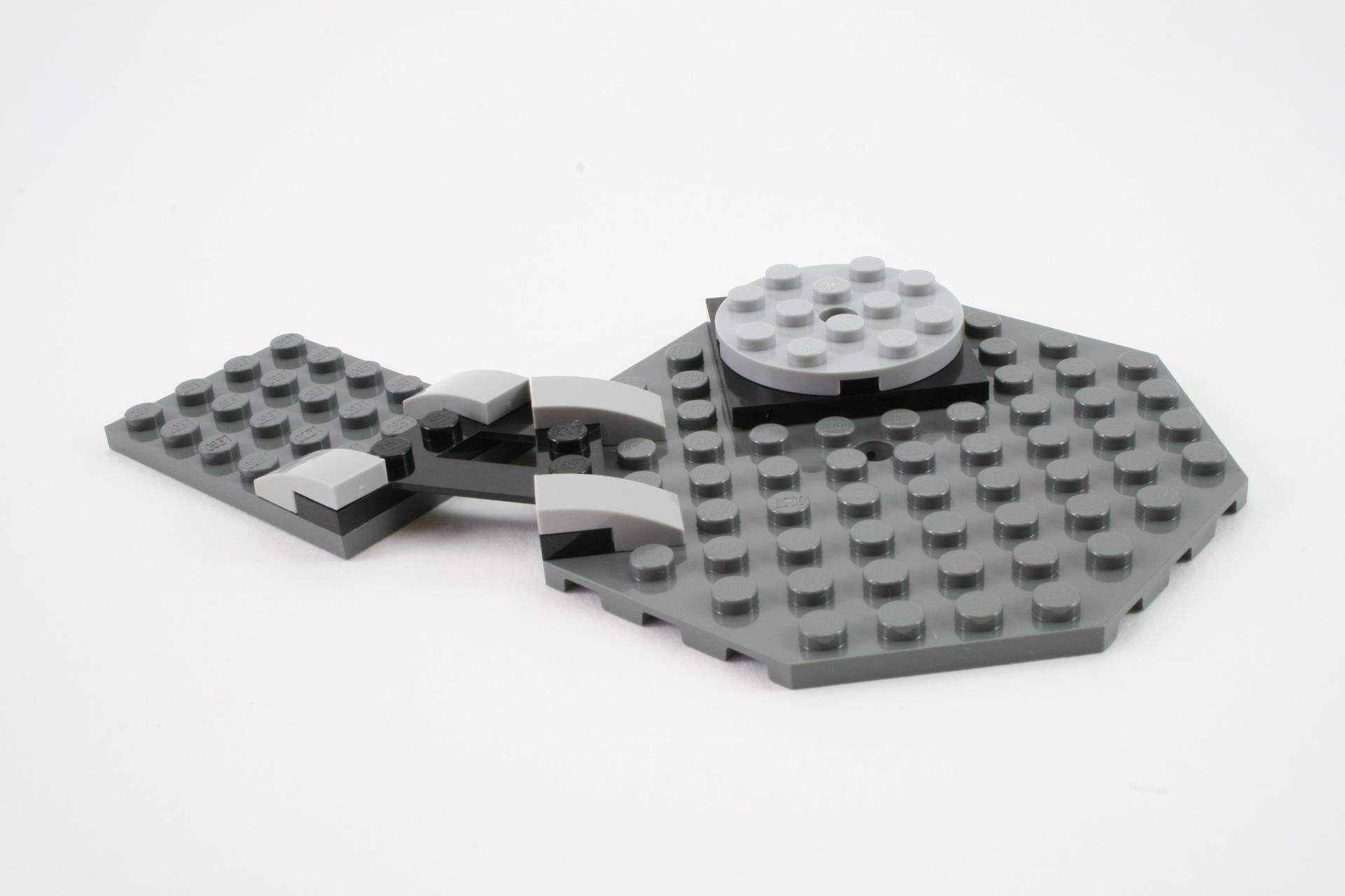 lego melting room instructions