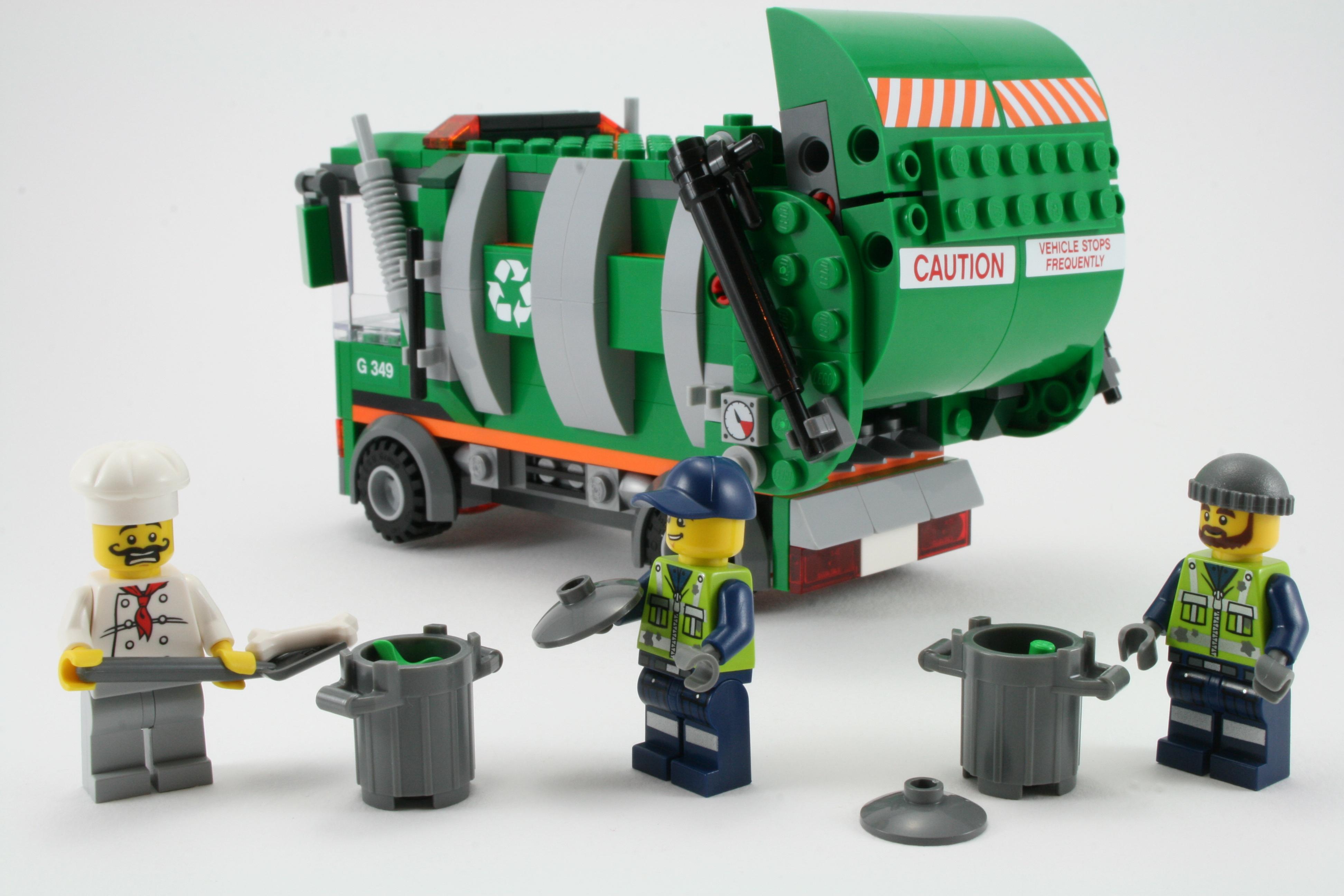 Review 70805 Trash Chomper Rebrickable Build With Lego