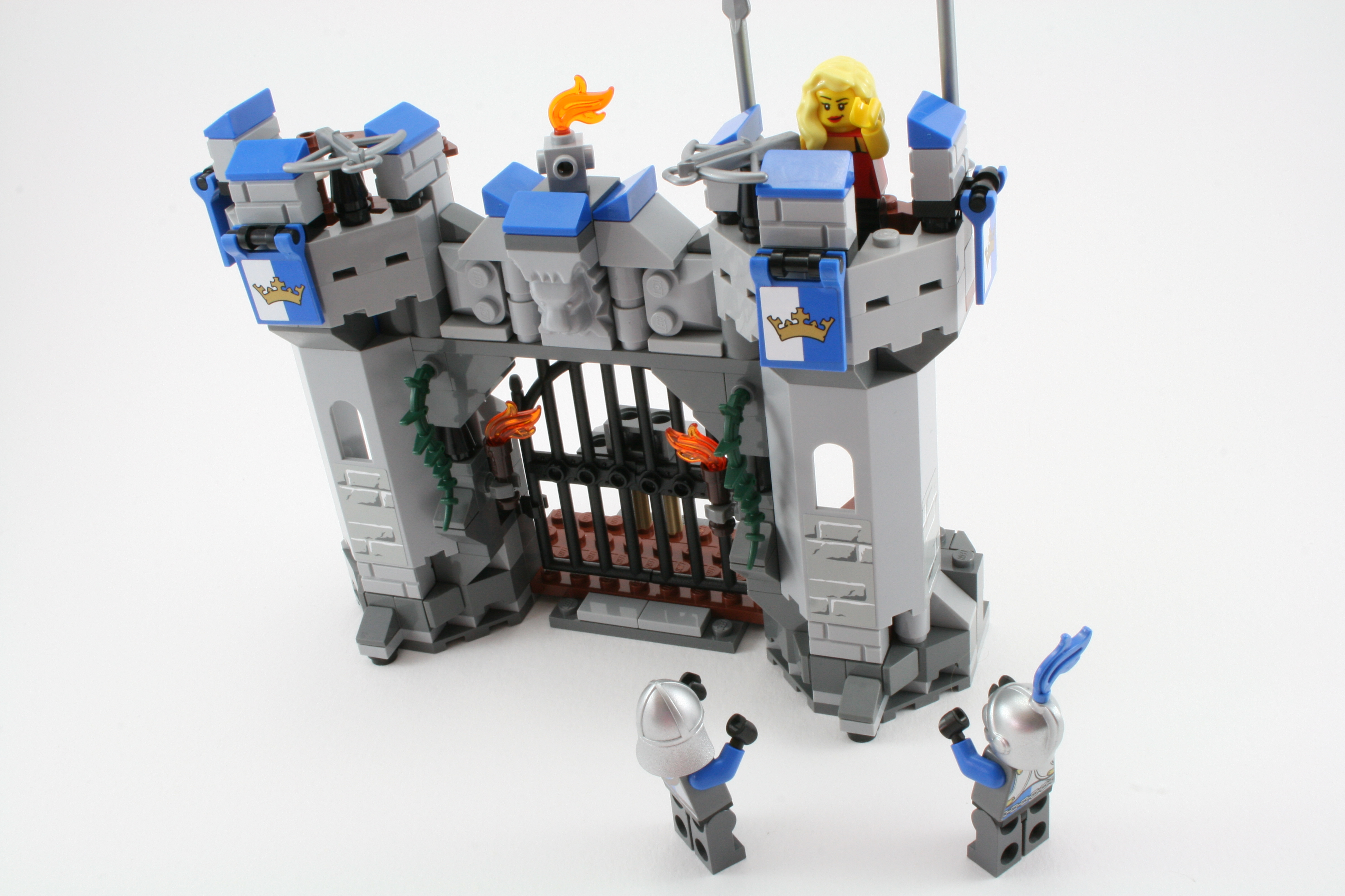 Review 70806 Castle Cavalry Rebrickable Build With Lego