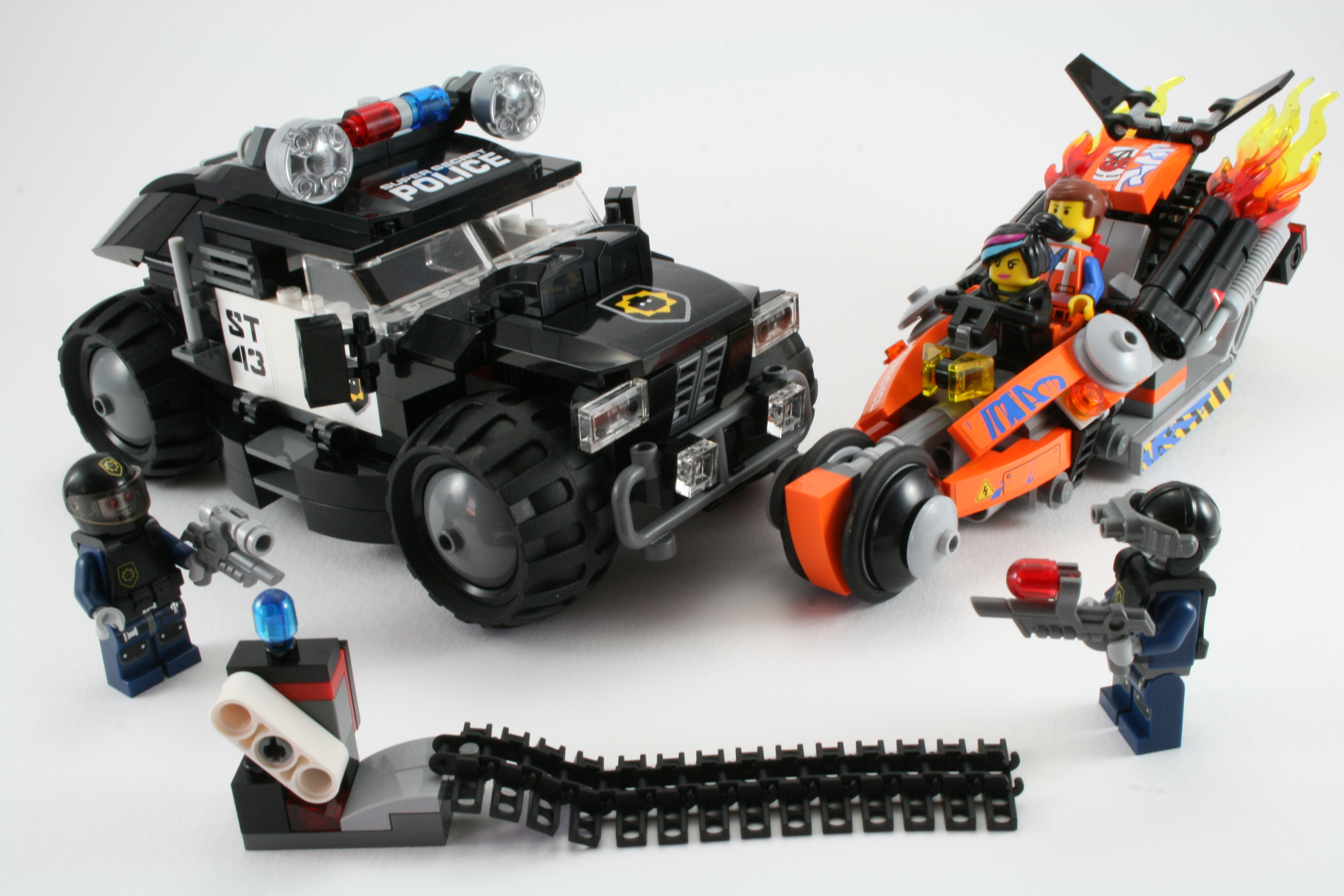 Review 70808 Super Cycle Chase Rebrickable Build With Lego