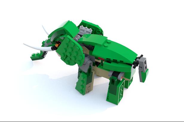 Lego moc 7631 31058 elephant creator model creature 2017 31058 elephant malvernweather Gallery