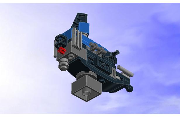 Lego Moc 9490 Fishing Boat Micro 31052 Alt Build Creator Basic