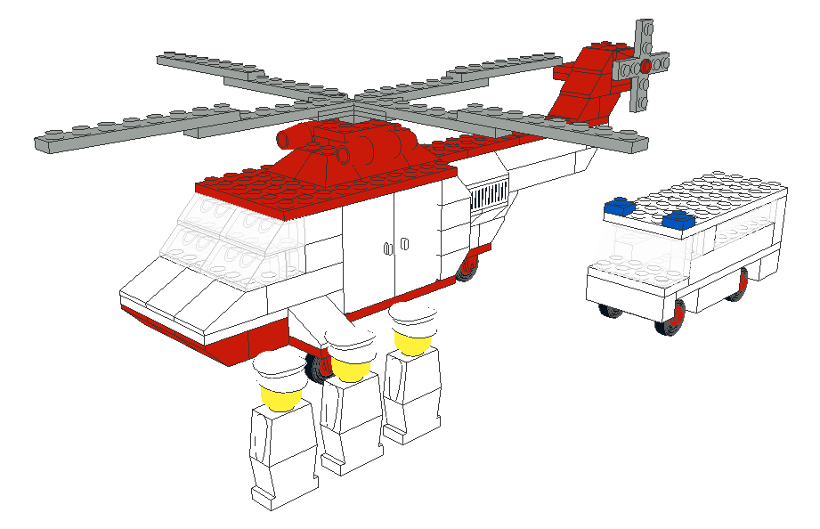 KEY TOPIC] Official Lego sets made in LDraw - Page 78 - LEGO Digital