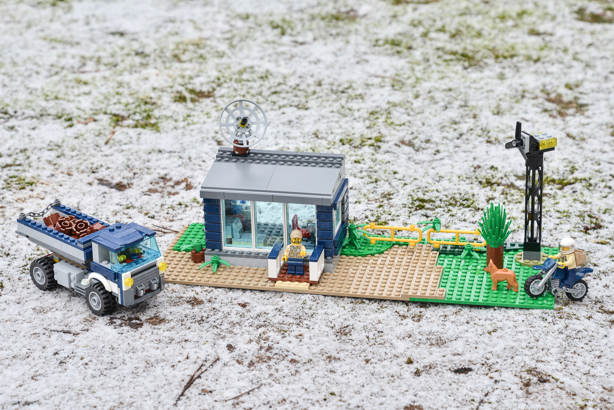 lego city swamp police station instructions