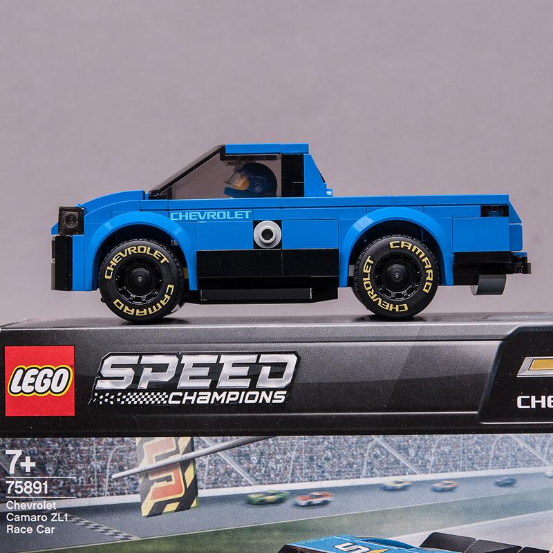 LEGO MOC-21498 75891 PICKUP (Speed Champions 2019) | Rebrickable