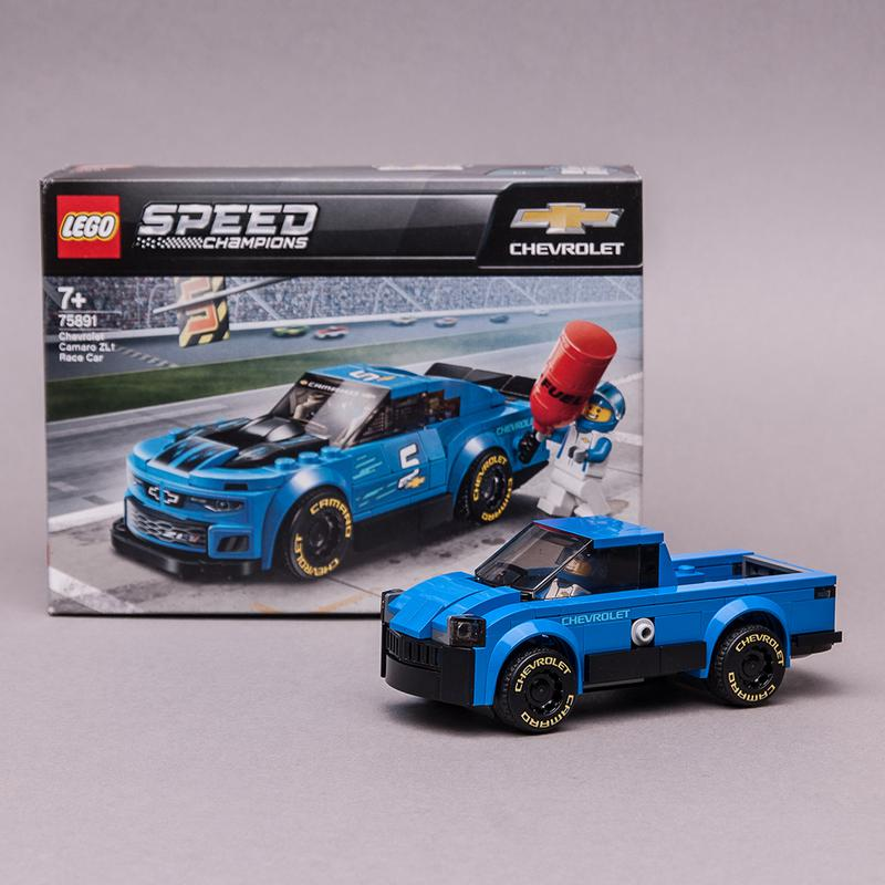 LEGO MOC-21498 75891 PICKUP (Speed Champions 2019) | Rebrickable