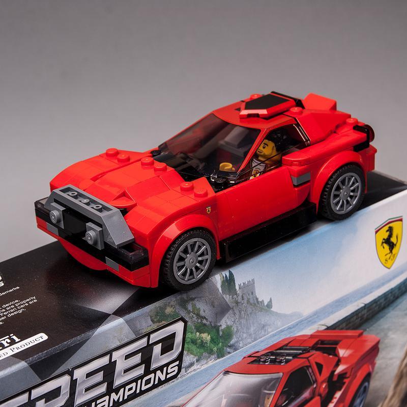 Ferrari F8 Tributo Colors: LEGO MOC-34548 76895 Design Car (Speed Champions 2020
