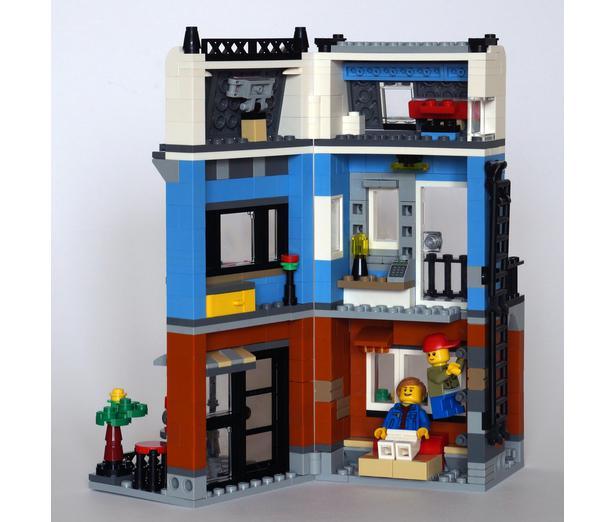 LEGO MOC-10163 31050 Terraced House (Creator > Model > Building 2017) |  Rebrickable - Build with LEGO