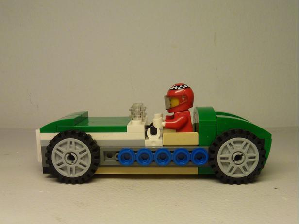Lego Moc 6243 31056 50s Race Car F1 Creator 2017 Rebrickable