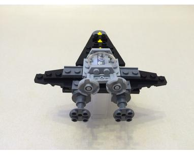 Lego Moc 30381 Sith Concept Jet By Plastic Ati Rebrickable Build With Lego