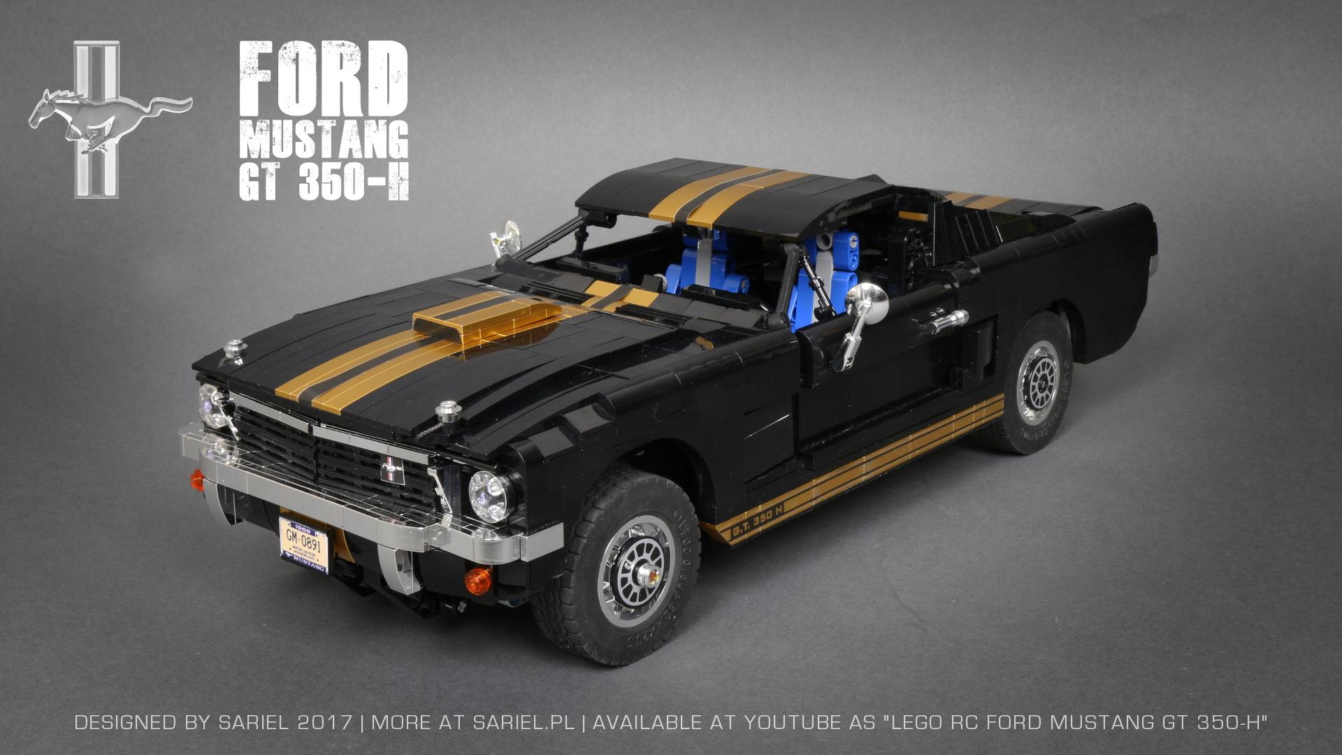 Sariel Pl  U00bb Ford Mustang Gt 350