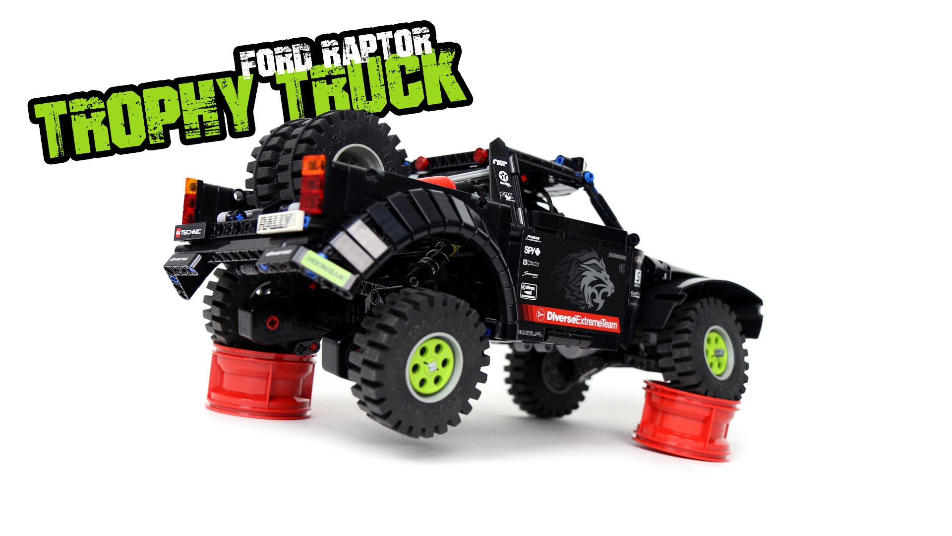 Sariel Pl 187 Ford Raptor Trophy Truck