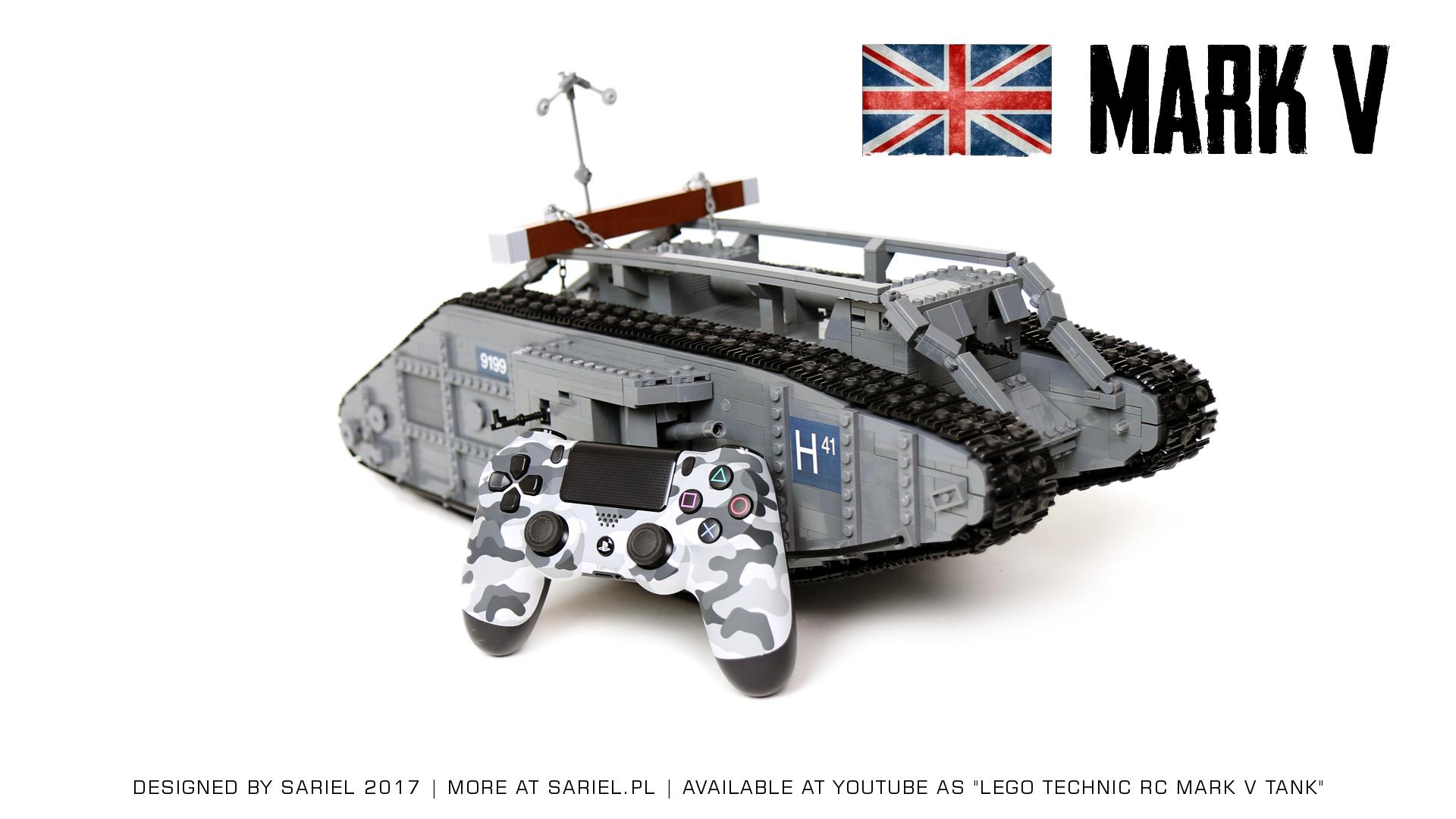 Sariel Pl 187 Mark V Tank