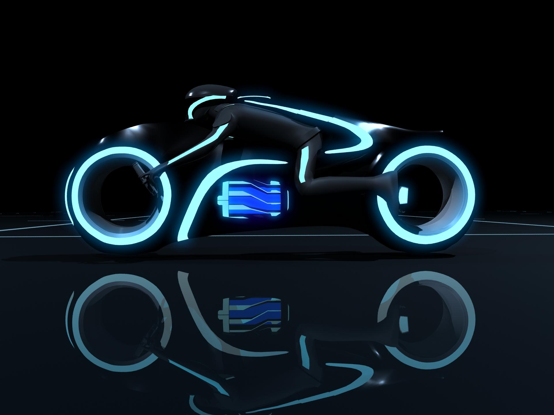 Sariel Pl Tron Light Cycle