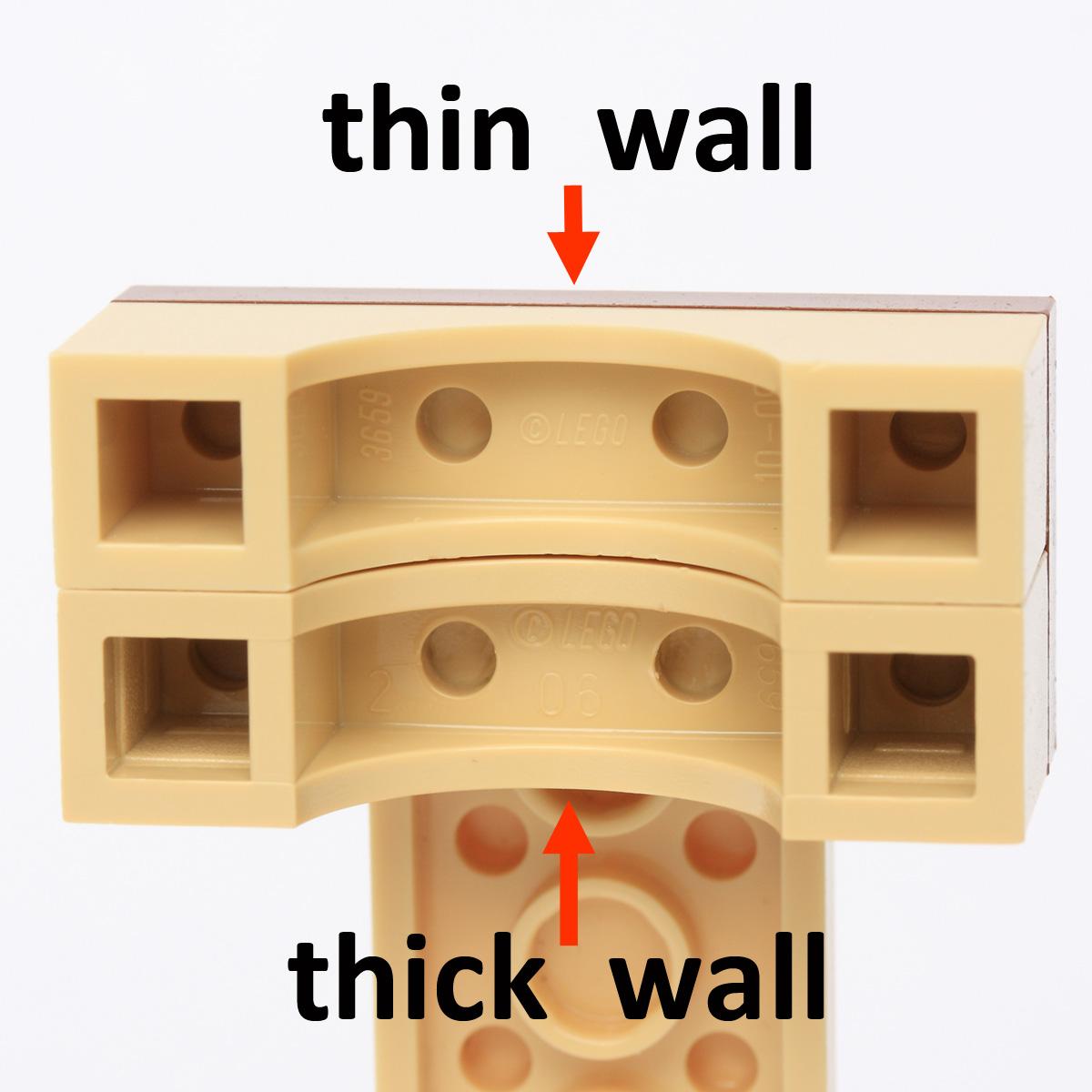 LEGO® Light Gray Brick Arch 1 x 4 Part 3659