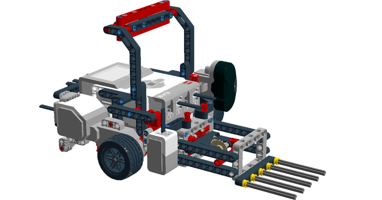 First Lego League Fll Robot Built From A Single Lego Mindstorms