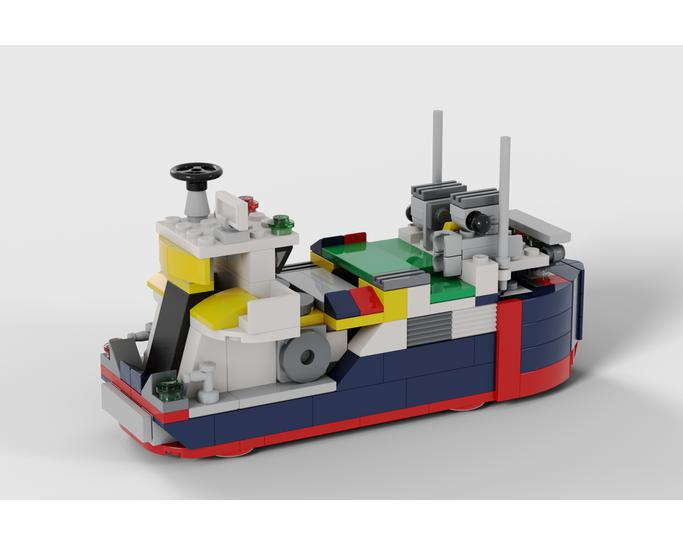 CITY SERIES MOC 8130 Cargo Ship by Timeremembered MOCBRICKLAND