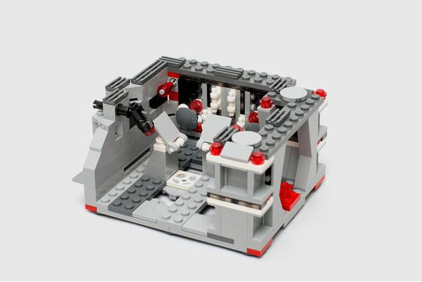 LEGO MOC-7782 Detention Block Rescue: Alternate Build for two 75078 ...