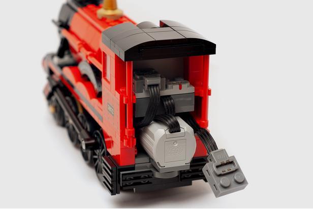 Lego Moc 16775 Motorized Hogwarts Express Harry Potter 2018