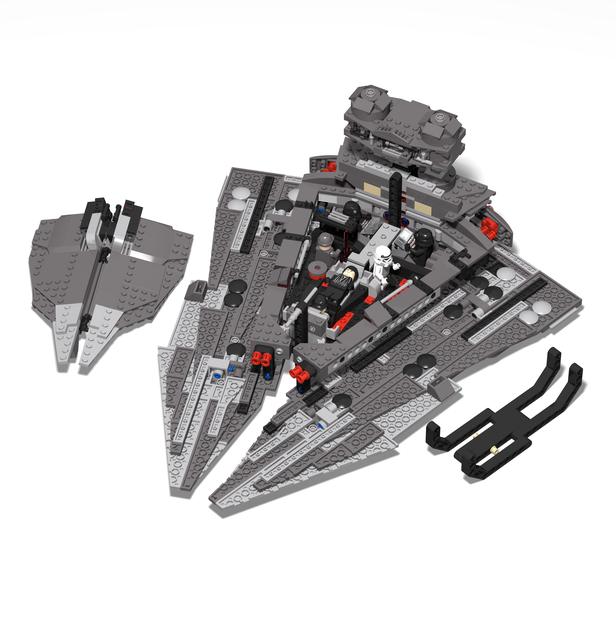 LEGO MOC-10636 Kylo Ren's Star Destroyer (Star Wars > Star Wars ...