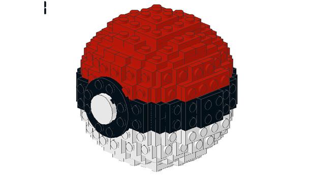 Lego Moc 5241 Poke Ball Creator 2016 Rebrickable Build With Lego