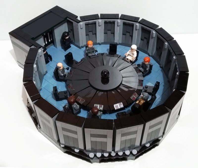 Lego Lamborghini Egoista: Death Star Conference Room