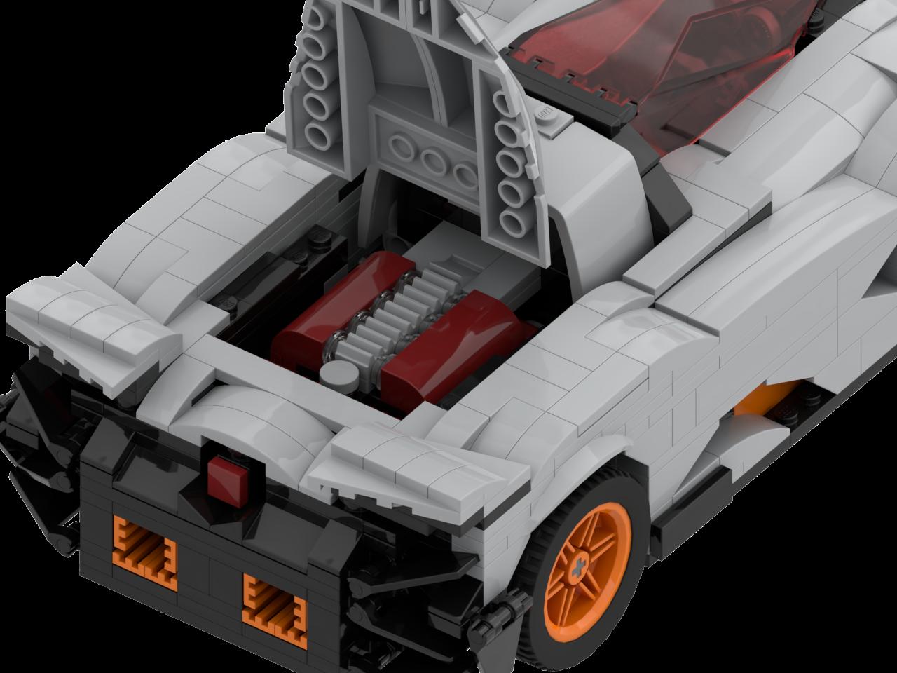 Lamborghini Egoista Bricksafe